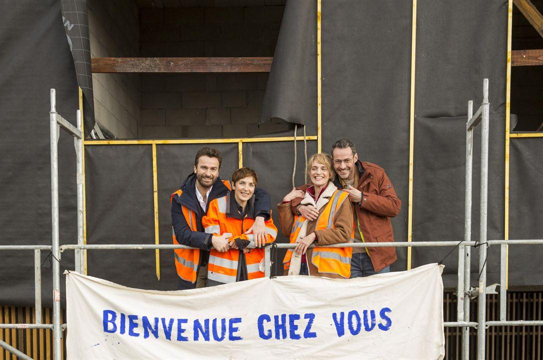 Bild Amaury de Crayencour, Judith Siboni, Julien Boisselier, Olivia Côte