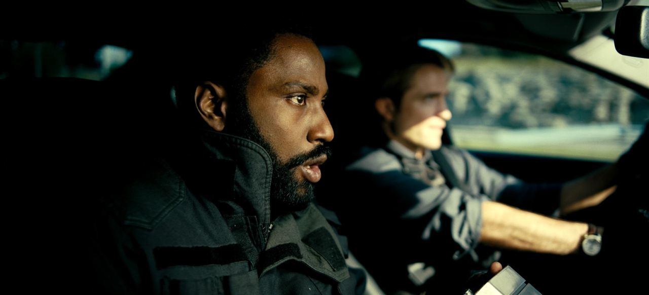 Tenet : Bild John David Washington, Robert Pattinson
