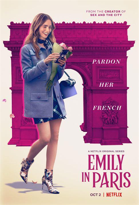 Emily in Paris : Kinoposter