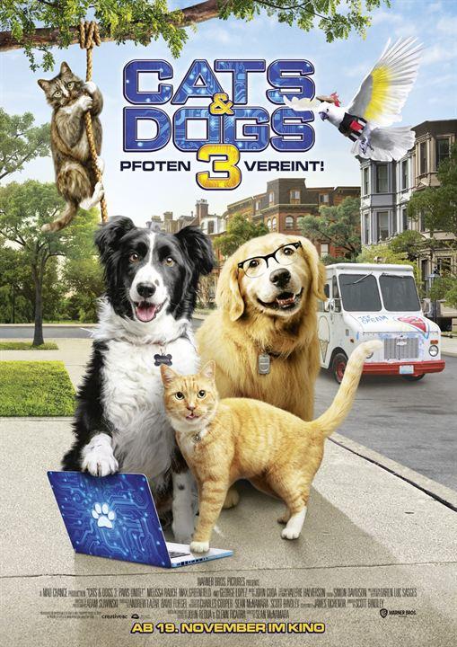 Cats & Dogs 3: Pfoten vereint! : Kinoposter