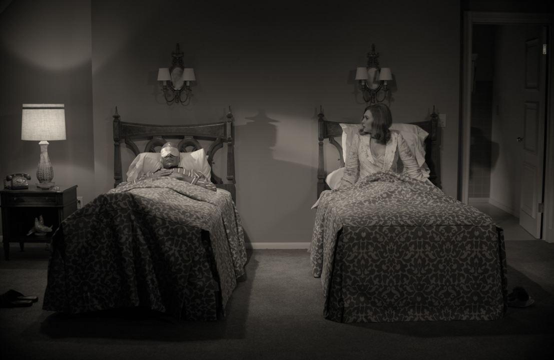Bild Elizabeth Olsen, Paul Bettany