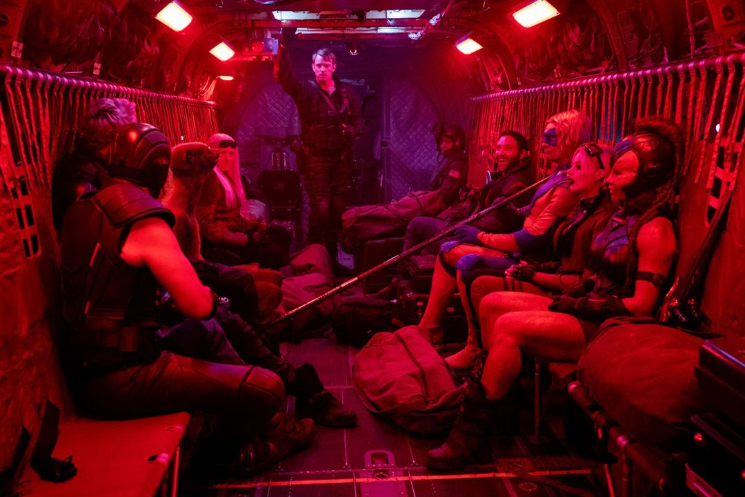 Suicide Squad 2 : Bild Flula Borg, Jai Courtney, Joel Kinnaman, Margot Robbie, Mayling Ng