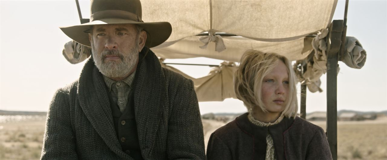 Neues aus der Welt: Helena Zengel, Tom Hanks