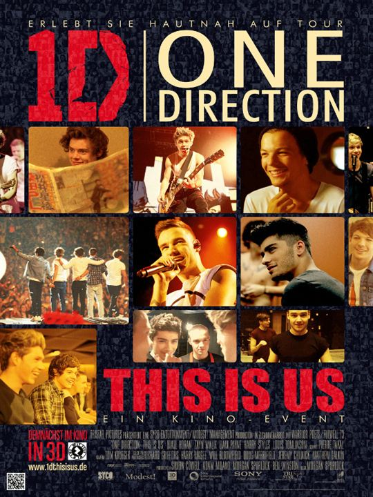 One Direction: This Is Us : Kinoposter