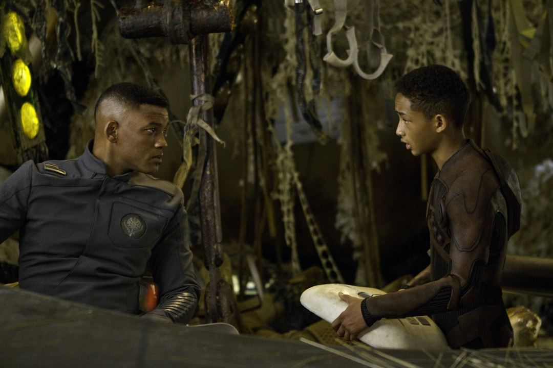 After Earth : Bild Jaden Smith, Will Smith