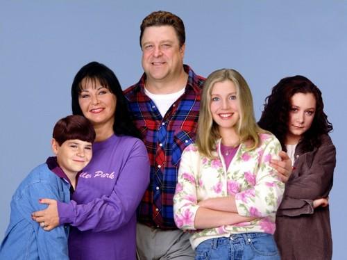 Roseanne : Bild John Goodman, Laurie Metcalf, Roseanne Barr, Sara Gilbert, Sarah Chalke