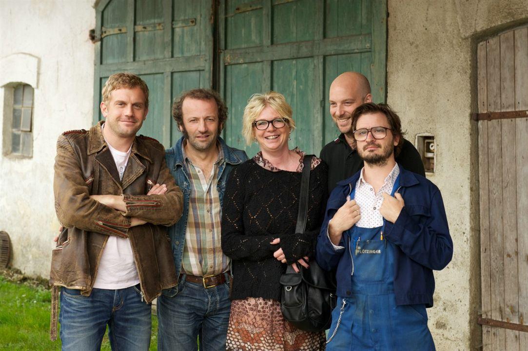 Dampfnudelblues : Bild Daniel Christensen, Max Schmidt, Rita Falk, Sebastian Bezzel, Stephan Zinner
