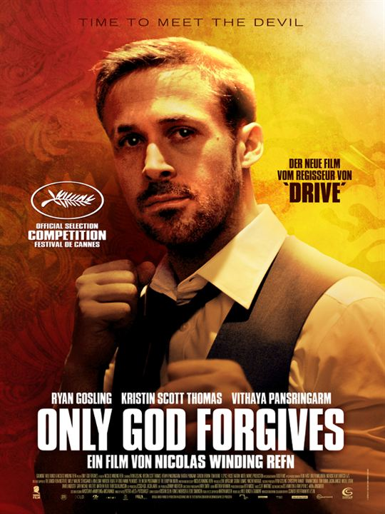 Only God Forgives : Kinoposter