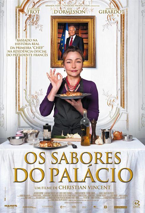Die Köchin und der Präsident : Kinoposter