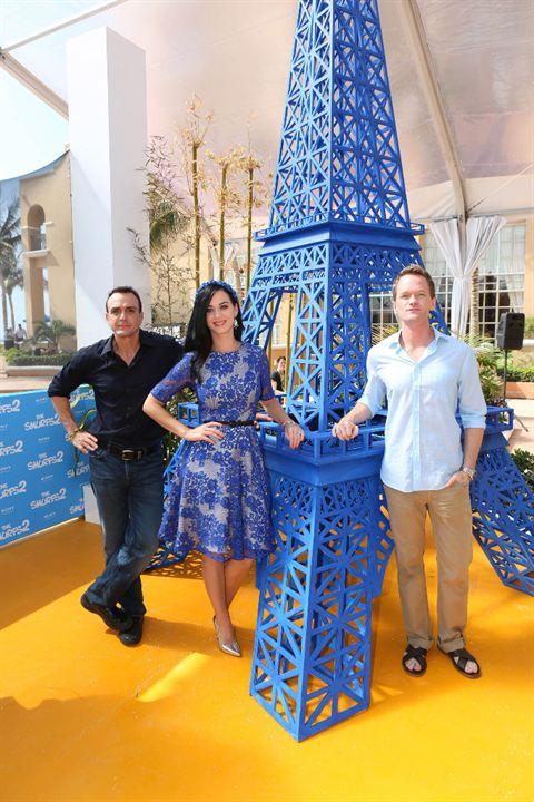 Die Schlümpfe 2: Hank Azaria, Neil Patrick Harris, Katy Perry