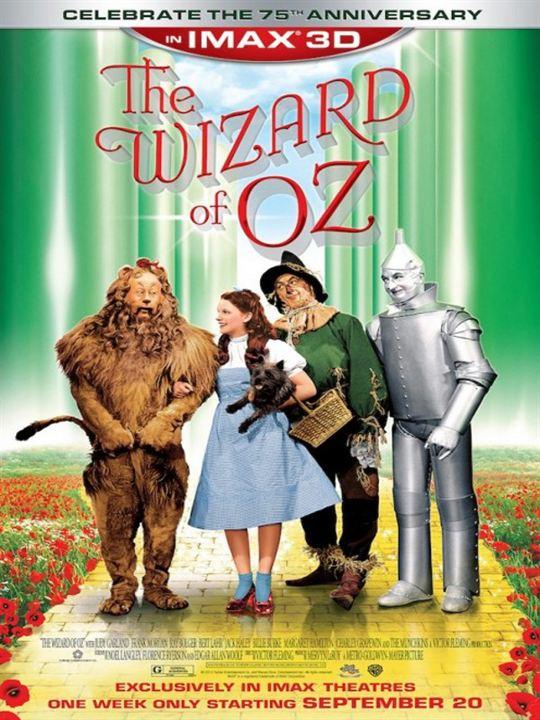 Der Zauberer von Oz : Kinoposter