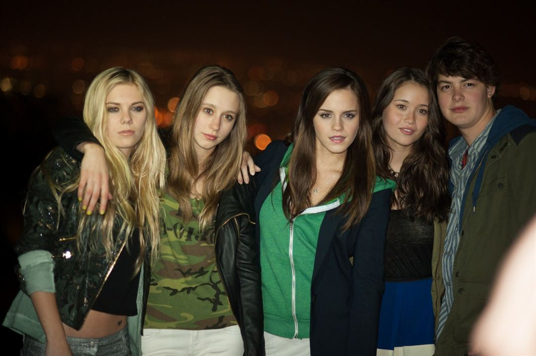 The Bling Ring : Bild Claire Julien, Emma Watson, Israel Broussard, Katie Chang, Taissa Farmiga