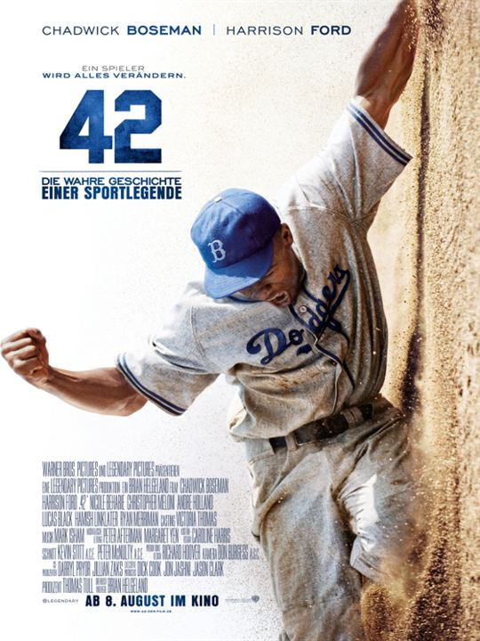 42 - Die wahre Geschichte einer Sportlegende : Kinoposter