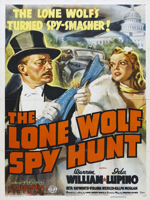 The Lone Wolf Spy Hunt : Kinoposter