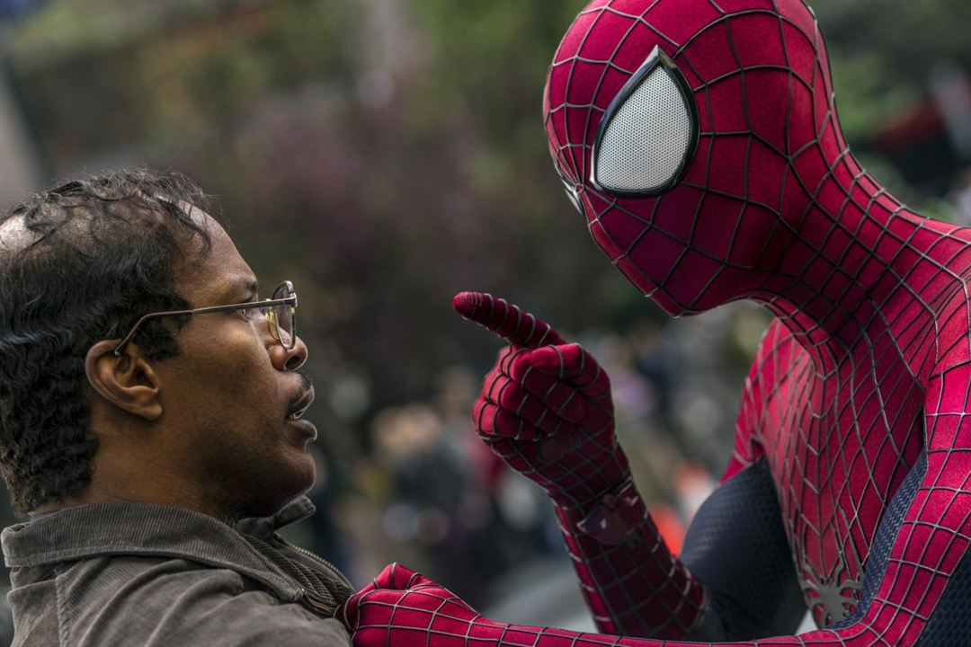 The Amazing Spider-Man 2: Rise Of Electro : Bild Andrew Garfield, Jamie Foxx