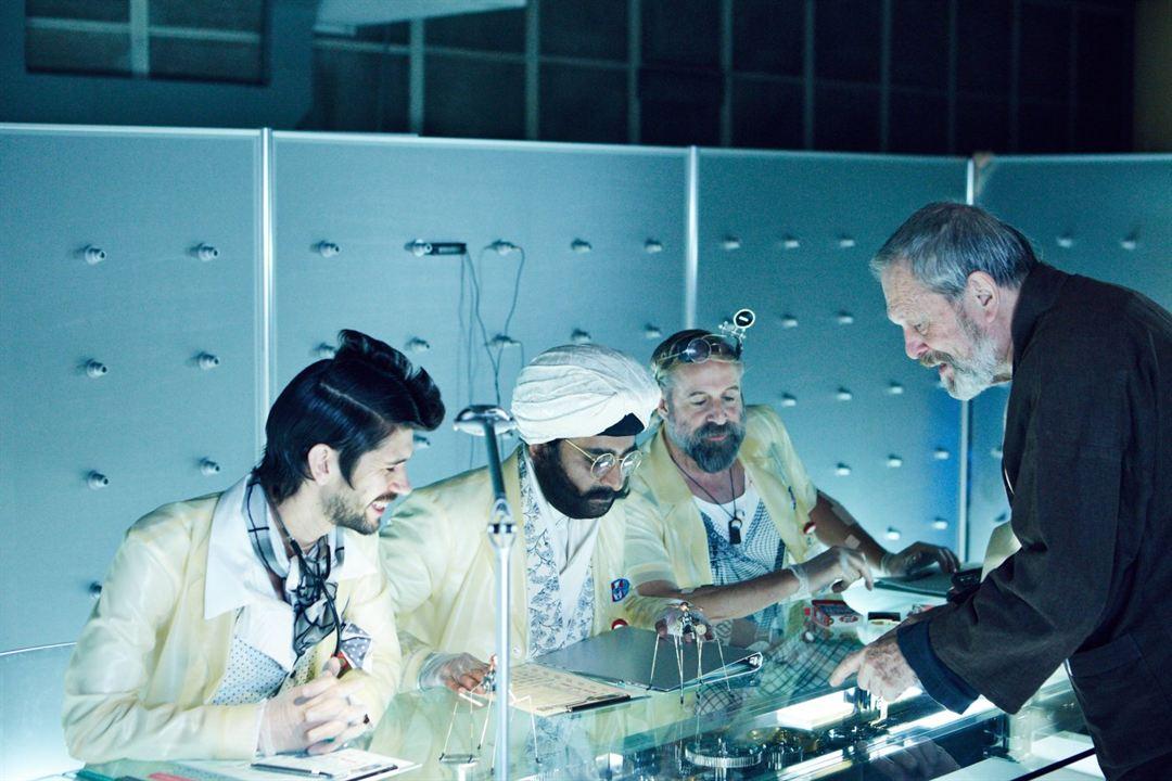 The Zero Theorem : Bild Ben Whishaw, Peter Stormare, Sanjeev Bhaskar, Terry Gilliam