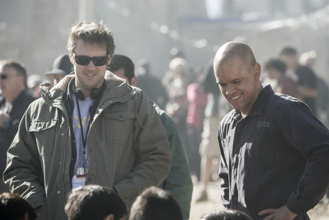 Elysium : Bild Matt Damon, Neill Blomkamp