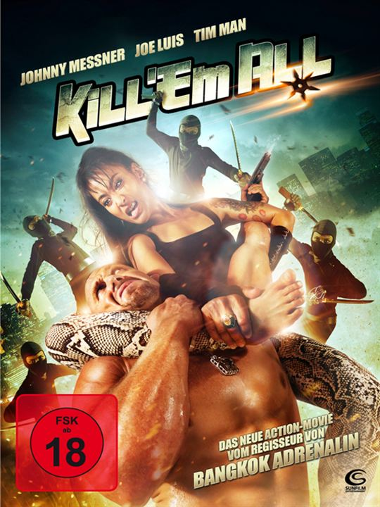 Kill 'em All : Kinoposter
