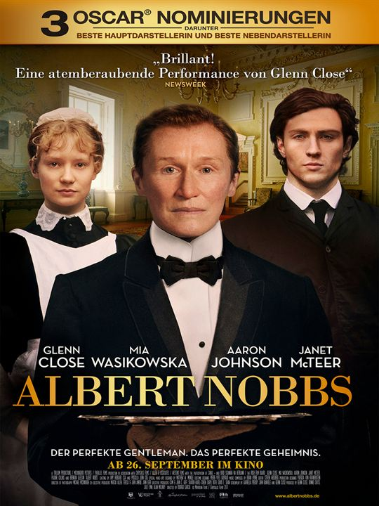 Albert Nobbs : Kinoposter