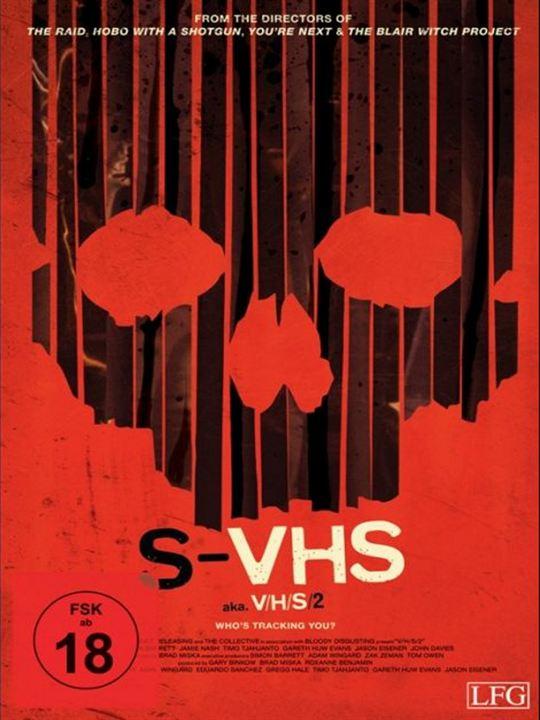 S-VHS aka V/H/S 2 : Kinoposter