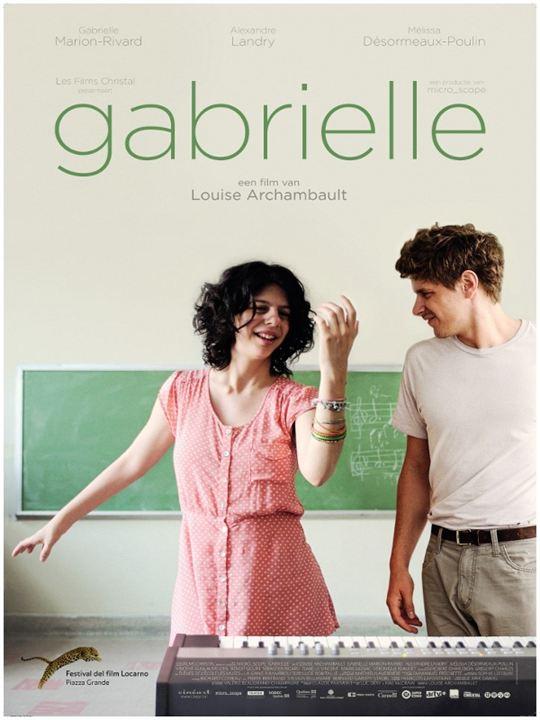 Gabrielle - (K)eine ganz normale Liebe : Kinoposter