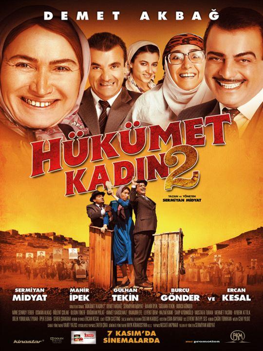 Hükümet Kadin 2 : Kinoposter