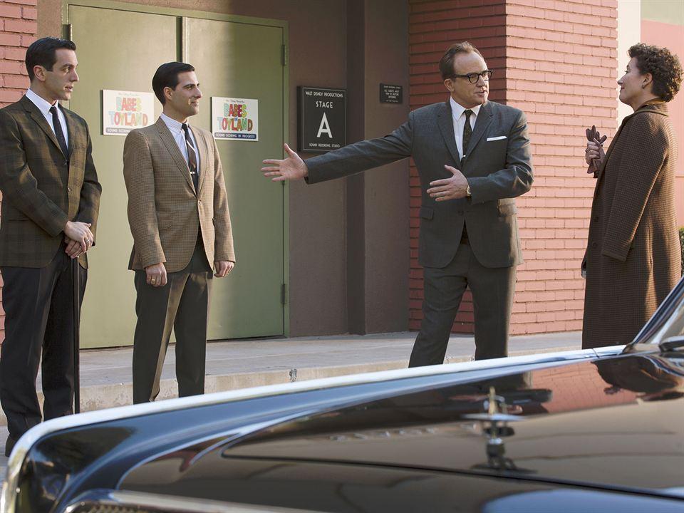 Saving Mr. Banks : Bild B.J. Novak, Emma Thompson, Jason Schwartzman