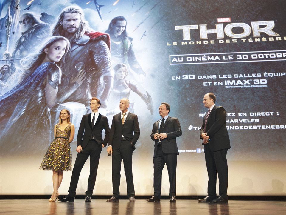 Thor 2 - The Dark Kingdom : Vignette (magazine) Kevin Feige, Natalie Portman, Tom Hiddleston