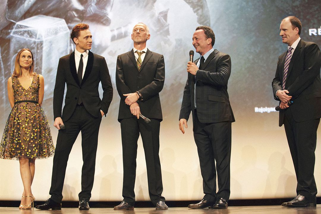 Thor 2 - The Dark Kingdom : Vignette (magazine) Alan Taylor, Kevin Feige, Tom Hiddleston