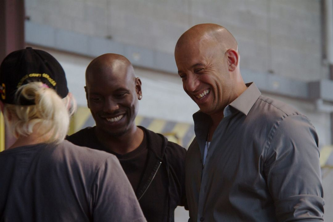 Fast & Furious 7 : Bild Tyrese Gibson, Vin Diesel
