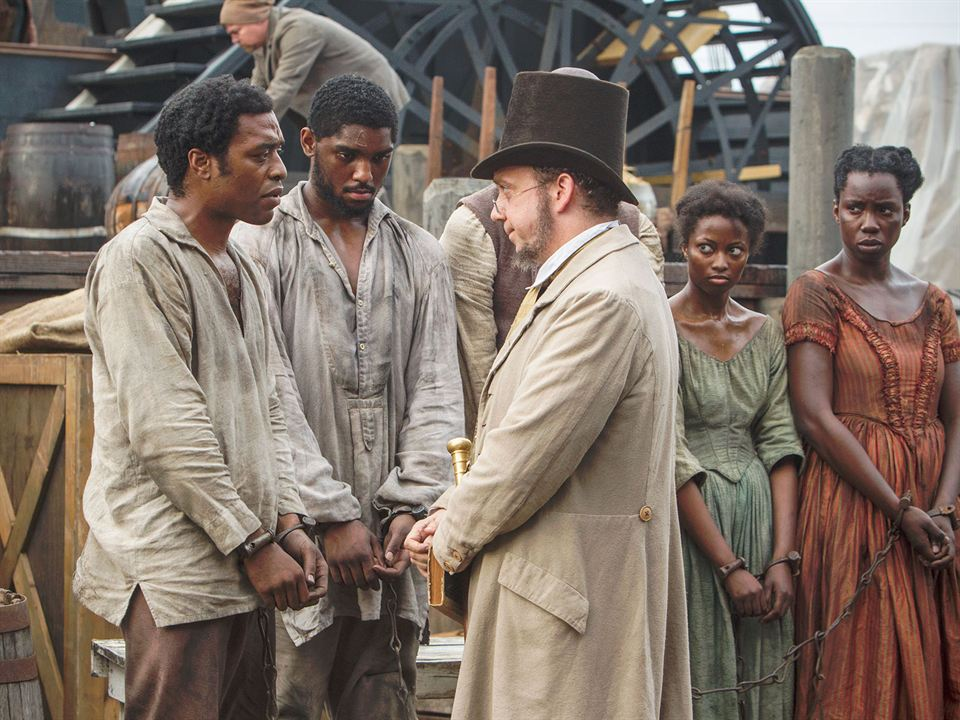 12 Years A Slave : Bild Chiwetel Ejiofor, Paul Giamatti