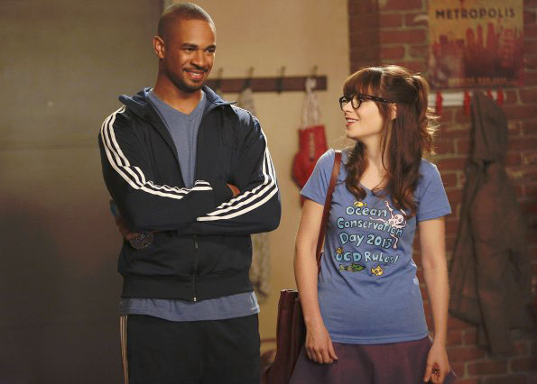 Bild Damon Wayans Jr., Zooey Deschanel