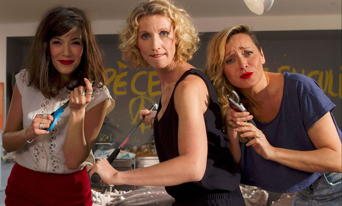 Jamais le premier soir : Bild Alexandra Lamy, Julie Ferrier, Mélanie Doutey