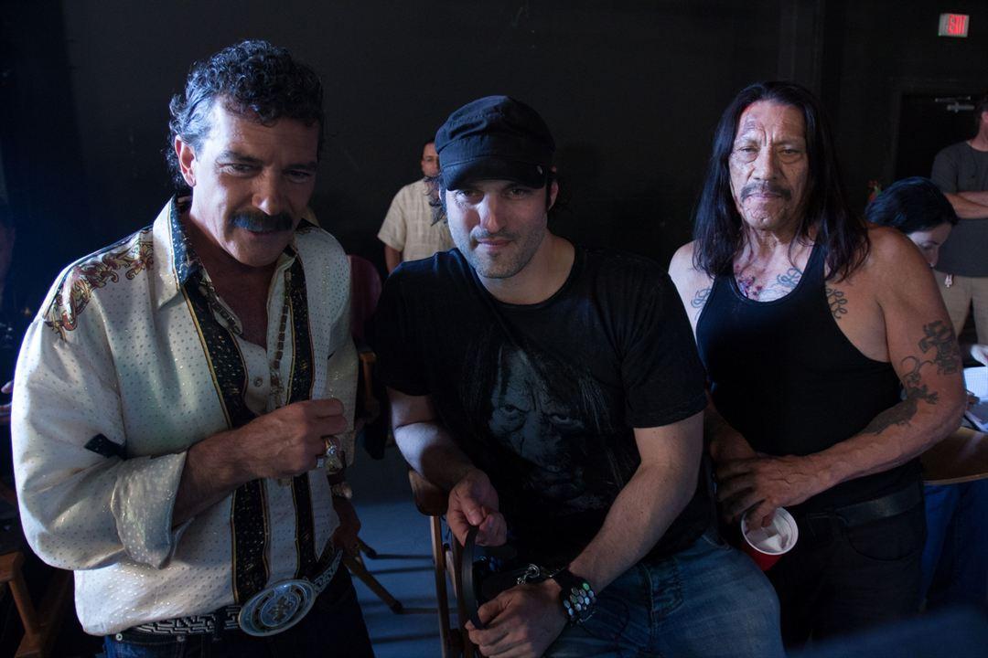 Machete 2: Machete Kills : Bild Antonio Banderas, Danny Trejo, Robert Rodriguez