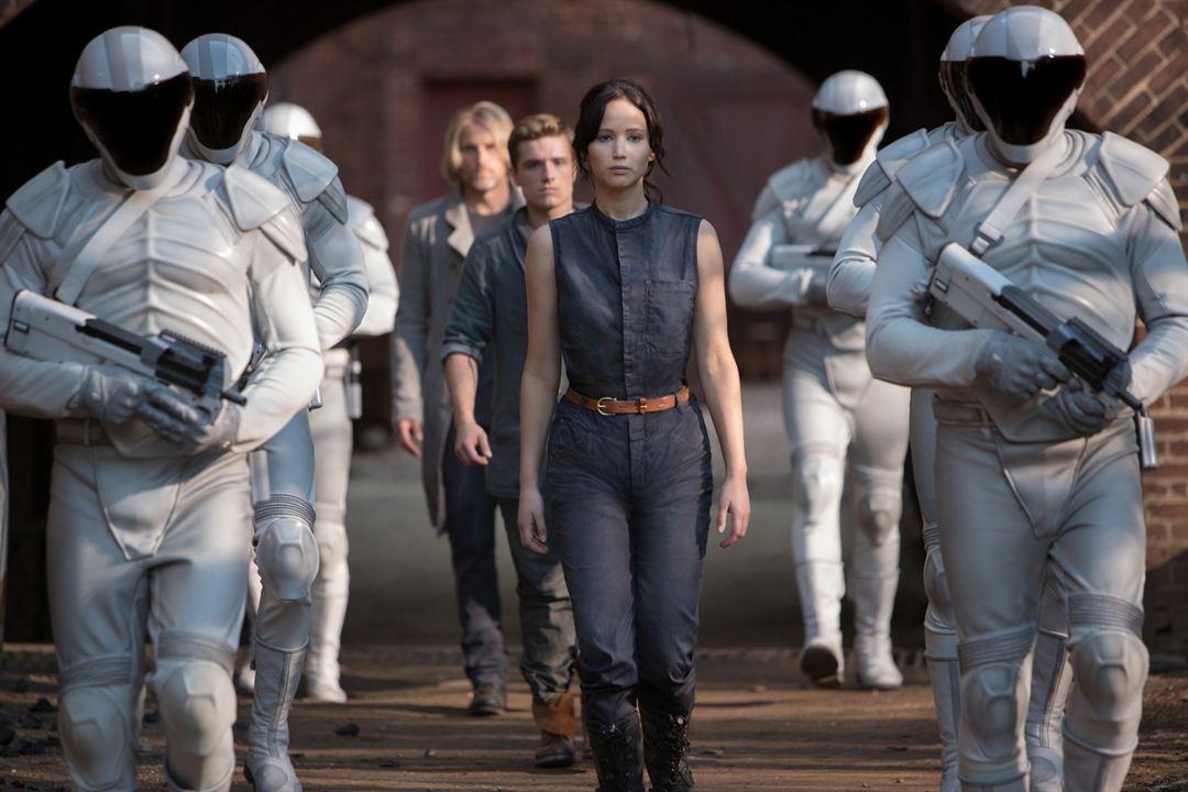 Die Tribute von Panem 2 - Catching Fire : Bild Jennifer Lawrence, Josh Hutcherson, Woody Harrelson