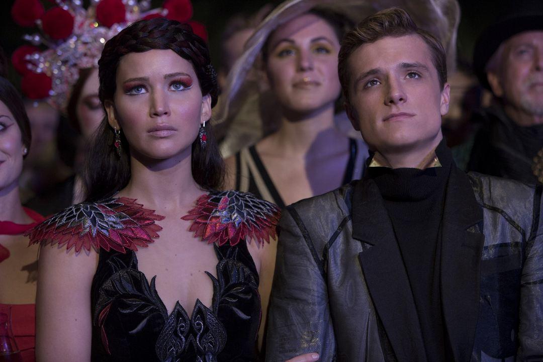 Die Tribute von Panem 2 - Catching Fire : Bild Jennifer Lawrence, Josh Hutcherson