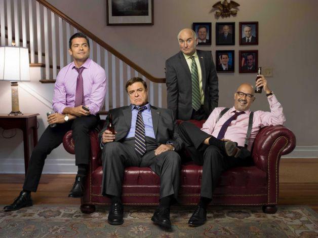 Bild Clark Johnson, John Goodman, Mark Consuelos, Matt Malloy