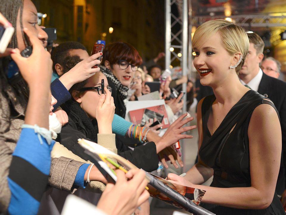 Die Tribute von Panem 2 - Catching Fire : Vignette (magazine) Jennifer Lawrence