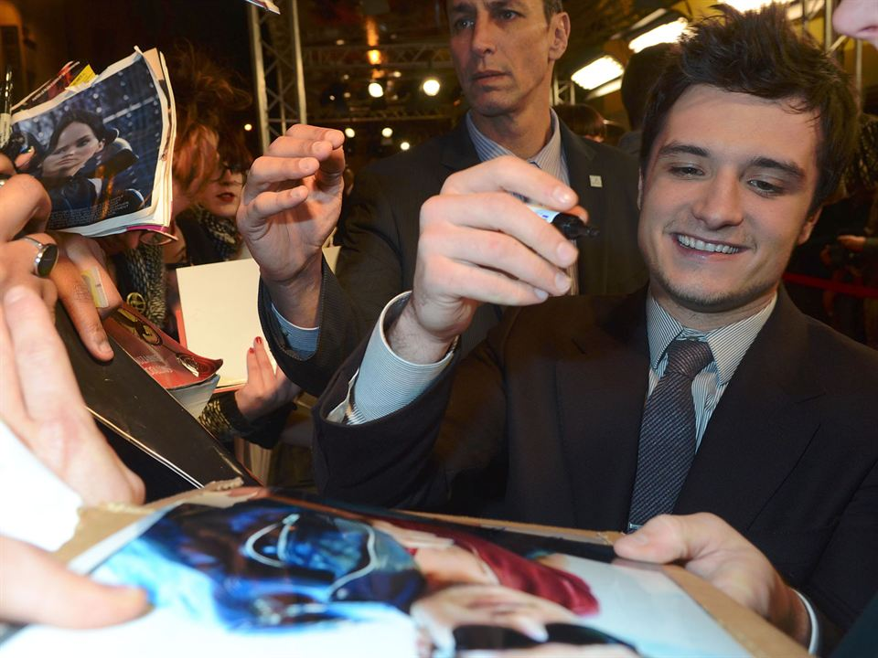 Die Tribute von Panem 2 - Catching Fire : Vignette (magazine) Josh Hutcherson