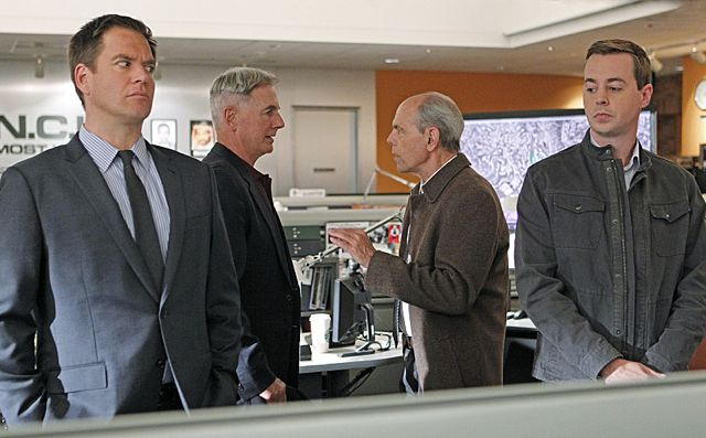 Bild Joe Spano, Mark Harmon, Michael Weatherly, Sean Murray