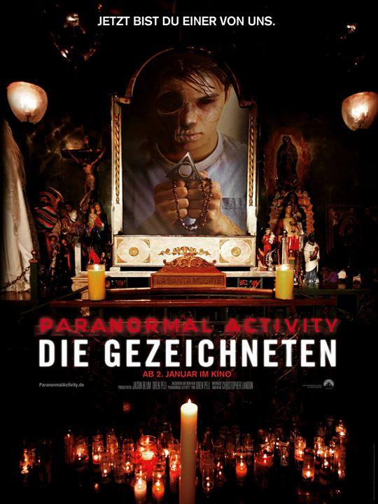 Paranormal Activity: Die Gezeichneten : Kinoposter