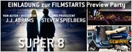 "Einladung zur FILMSTARTS-Preview-Party von ""Super 8"""