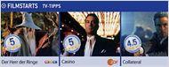 Die FILMSTARTS-TV-Tipps (16. bis 22. Dezember)
