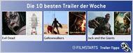Die zehn besten Trailer der Woche (23. Februar 2013)