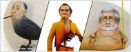 Fan-Kunst: 16 Kult-Regisseure, die als Skulpturen aus Holz und Lehm mit ihren Filmfiguren verschmelzen