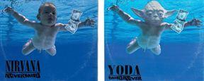 """""""Star Wars""""-Figuren schreiben die Musikgeschichte um: 45 legendäre Albumcover in neuem Look"""