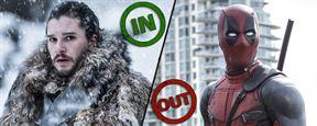 """Die Ins & OUTs der Woche mit coolen """"Game Of Thrones""""-Mash-up-Videos und einem tragischen Unfall bei """"Deadpool 2"""""""