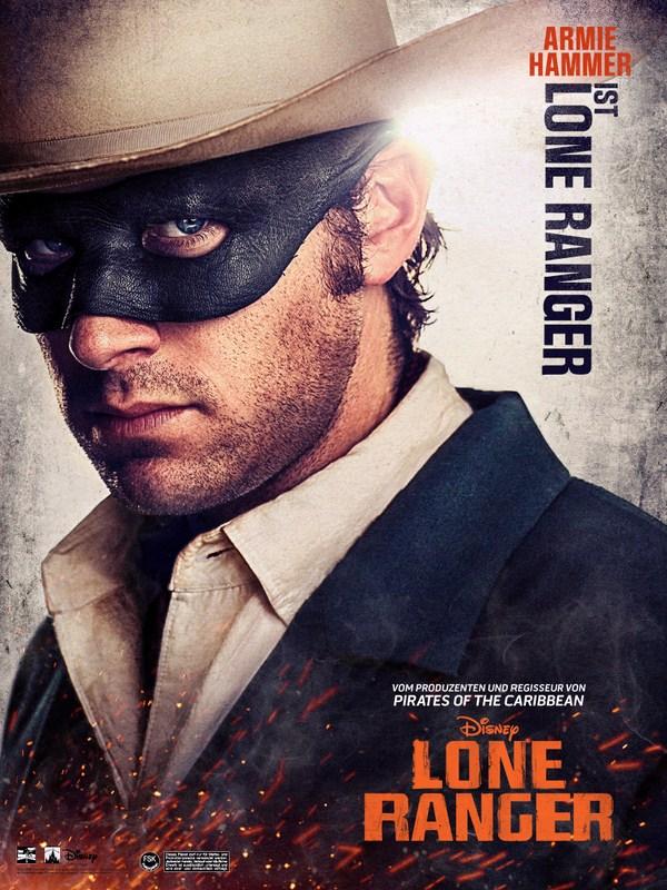 Affiche (autres) - FILM - The Lone Ranger : 135256