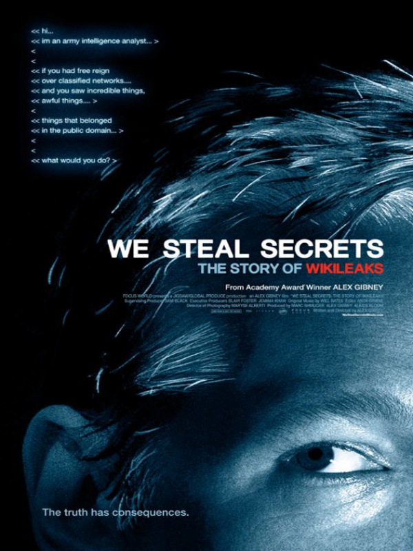 Affiche (autres) - FILM - We Steal Secrets: The Story of WikiLeaks : 217610