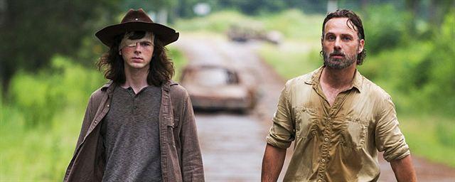 The Walking Dead Das Schreibt Carl In Seinem Brief An Rick